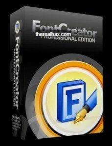FontCreator Pro crack logo